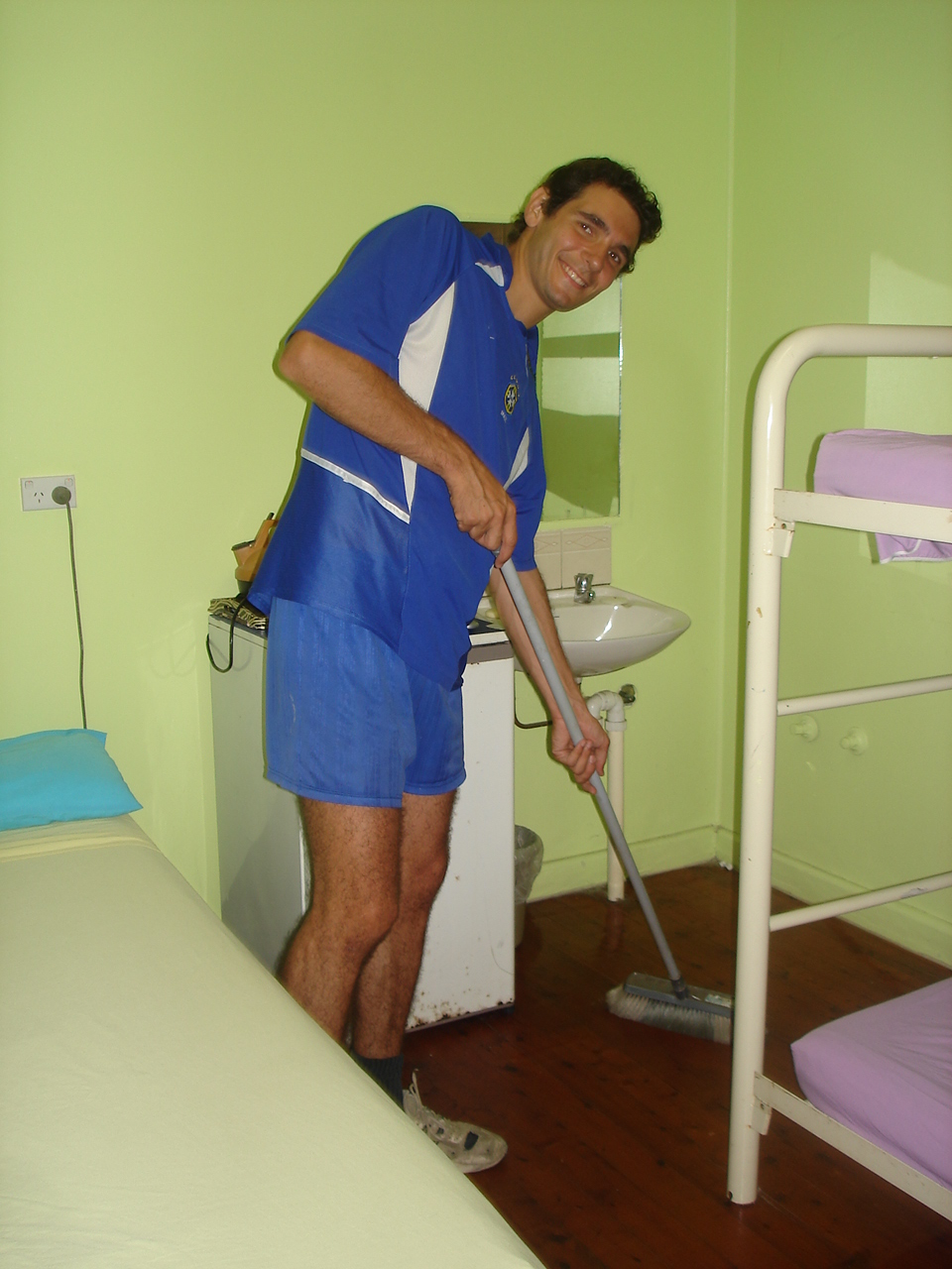 Homme de ménage en Australie