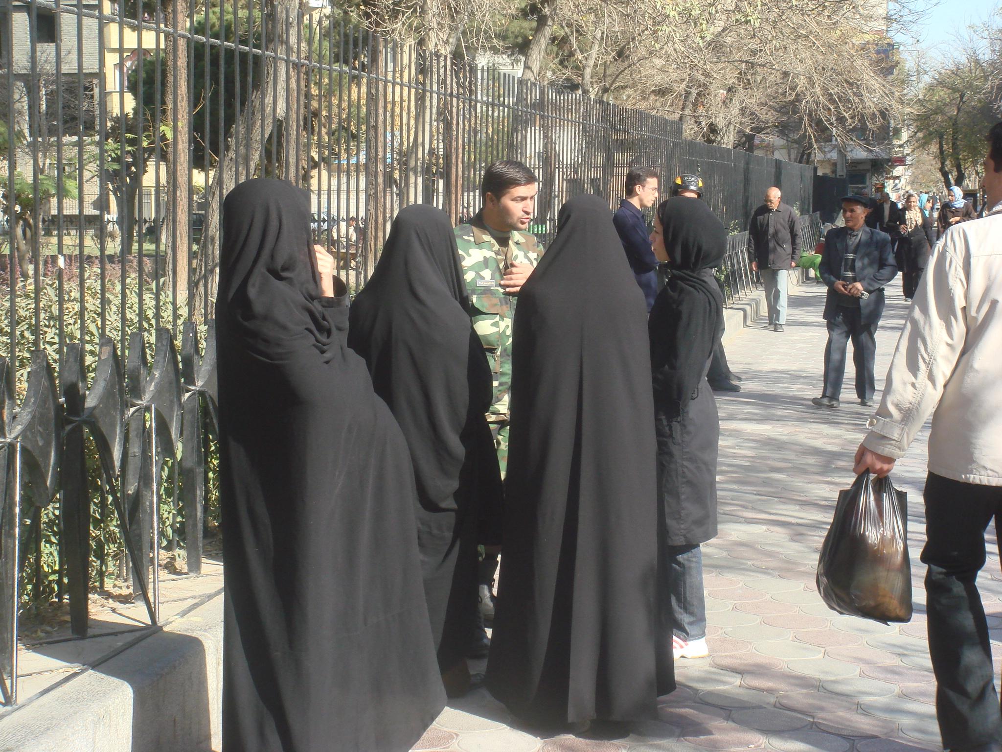 La curiosité des Iraniens