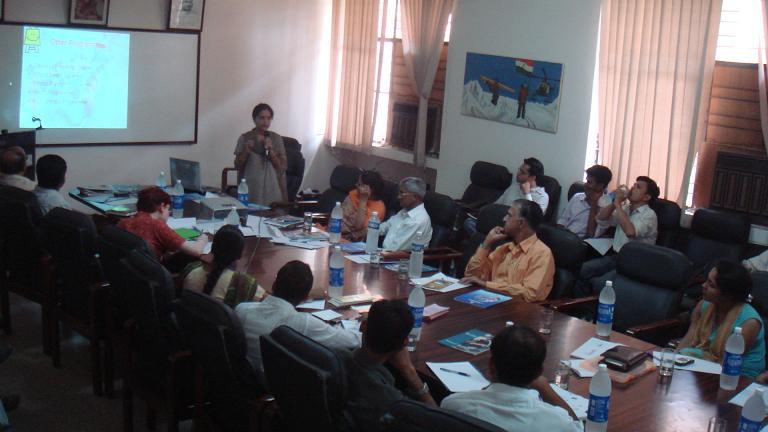 Journée de rencontre entre ONG - Delhi